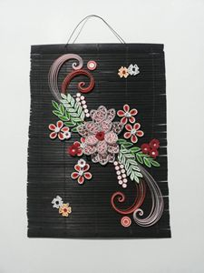 quilling table mat