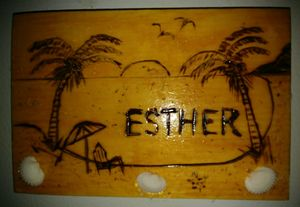 Personalized Wooden Magnets - Esthers Artsy Crafty