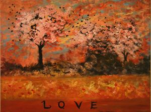 The love painting