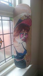 Graffiti Girl on board