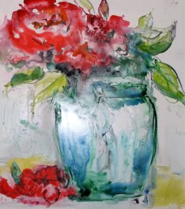 Floral Still Life Watercolor
