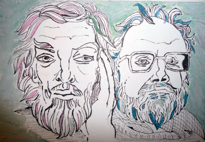 brother artist - Neil Travis Mayes