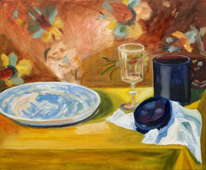 The blue plate - Crealau