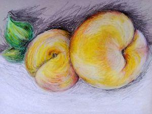 Still life - peaches