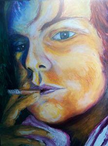 Self-portrait (sample)
