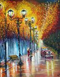 Oil painting on canvas...