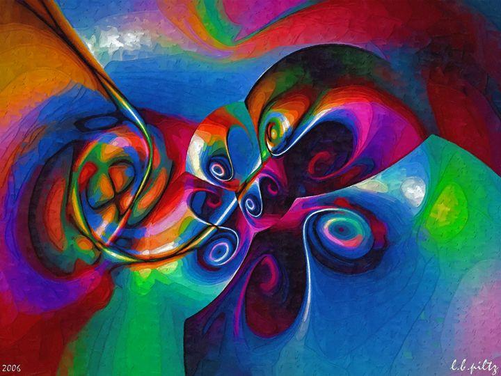 Butterfly and Flower - Lothar B. Piltz