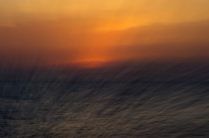 Abstract Sunset - Lothar B. Piltz
