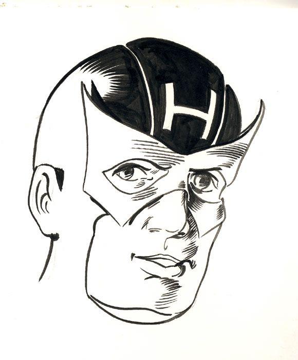 Hawkeye - Robert Berry's Drawing Table