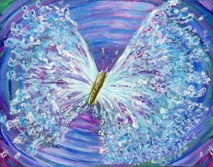 butterfly wings of water