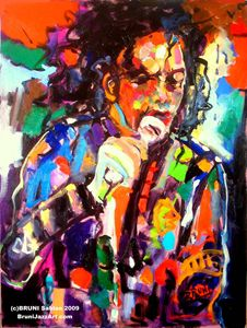 Michael Jackson by BRUNI