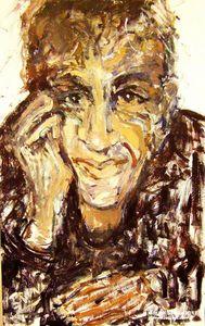 Caetano Veloso  Painting by BRUNI