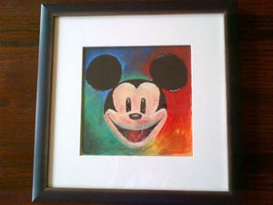 Mickey Mouse Pastel Artwork