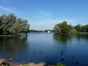 Гатчинский парк, Белое озеро