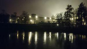 Гатчинский дворец в сумерках