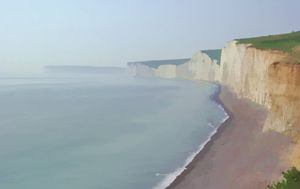 Seven Sisters,Sussex Coast.