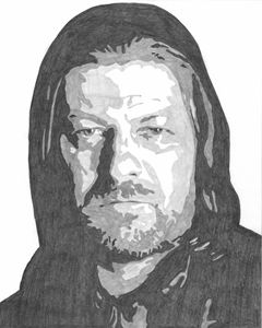 Ned Stark Game of Thrones Sketch