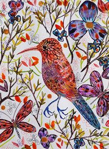 Bird Painting Oiseau