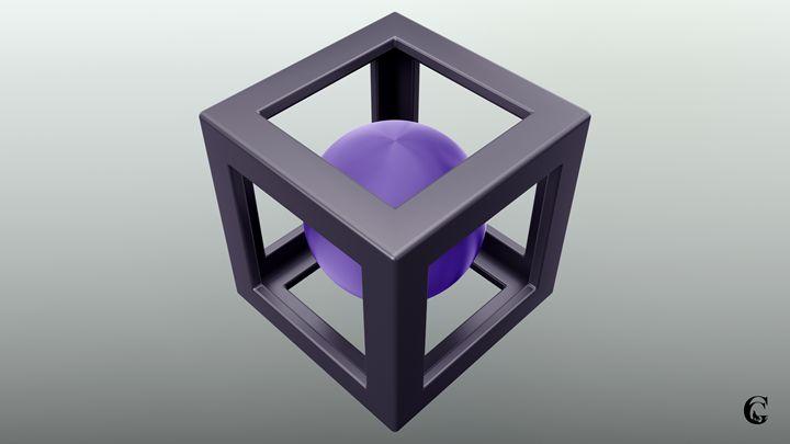 Violet abstraction - Serpi & Co
