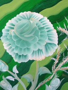A Green Rose