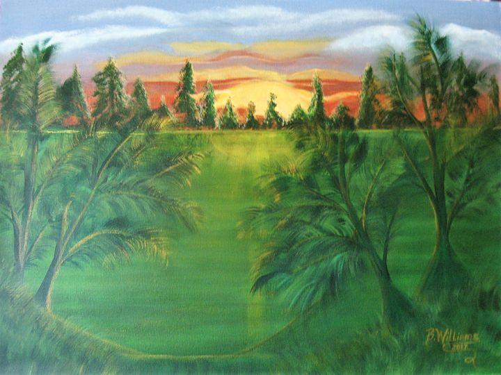 Golden Time Of Day - Brenda Williams