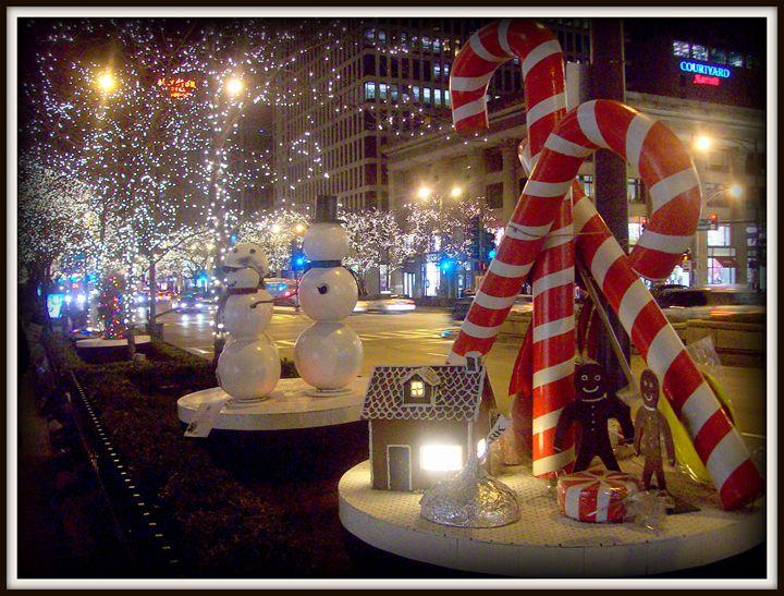 Chicago Christmas Candy - J Anthony Shuff Artwortks