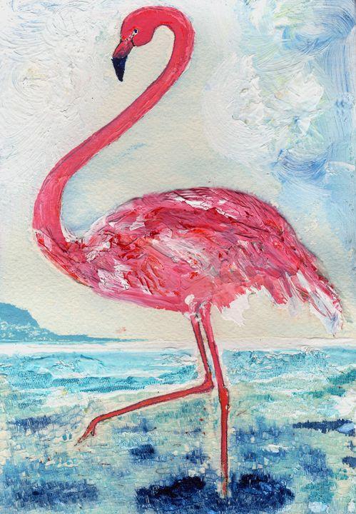 Tickled-Pink Flamingo - CALIOPE (Cali Norton)
