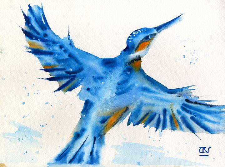 Kingfisher~ Splash of Happiness - CALIOPE (Cali Norton)