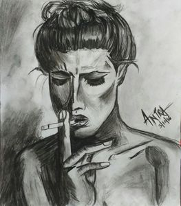 Original Sketch of women