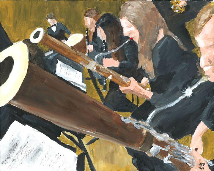 Bassoon Section - Al's Art
