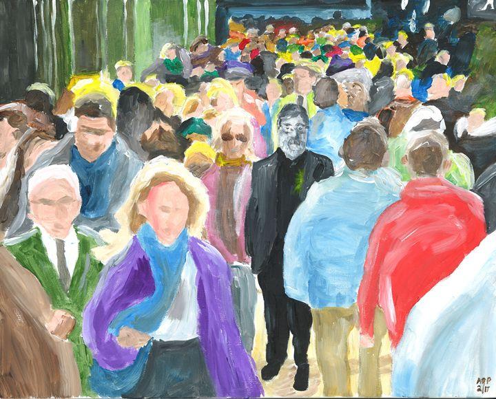 INFJ: Alone in the Crowd - Al's Art