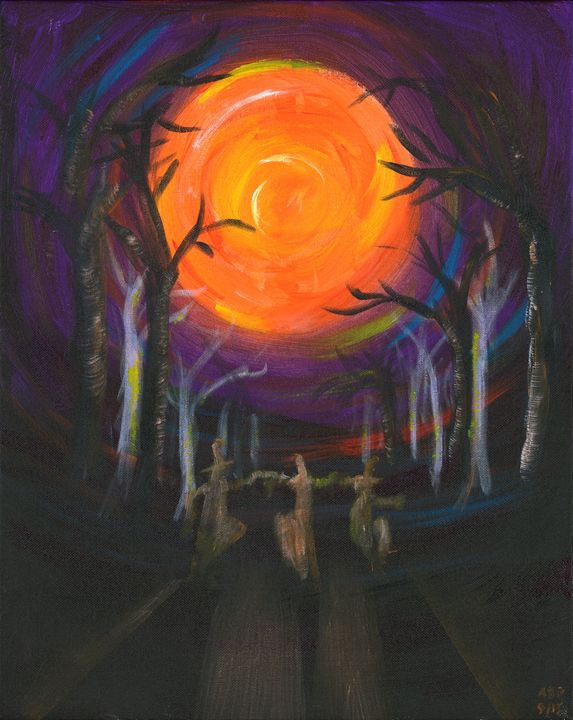 The Dance of the Witches - Al's Art