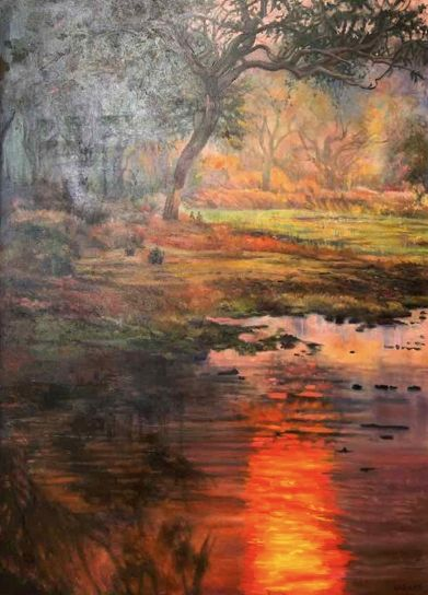 By The Stream - Laura Urquhart