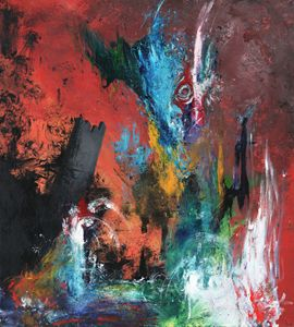 Balance - Colorful Abstract Painting