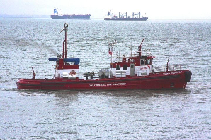 San Francisco Fire Department Boat - JT Simmonds