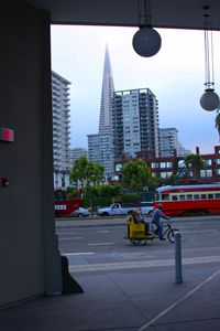 Rickshaw & Trolley in Embarcadero