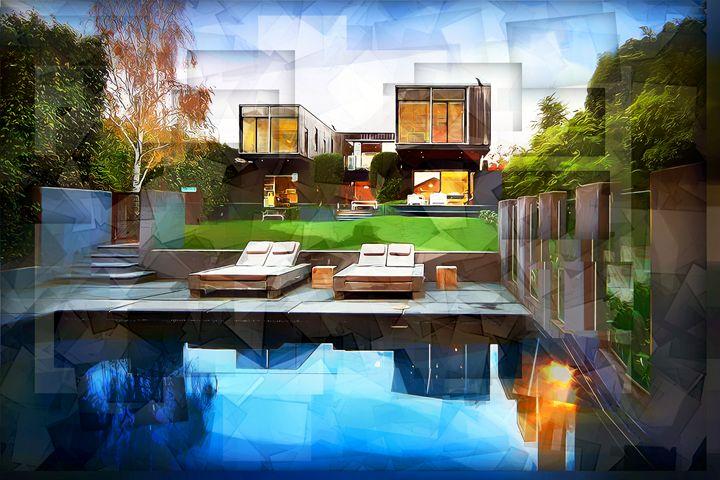 Poolside - Karl J. Struss
