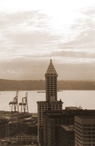 Smith Tower in Seattle Wa. 1986