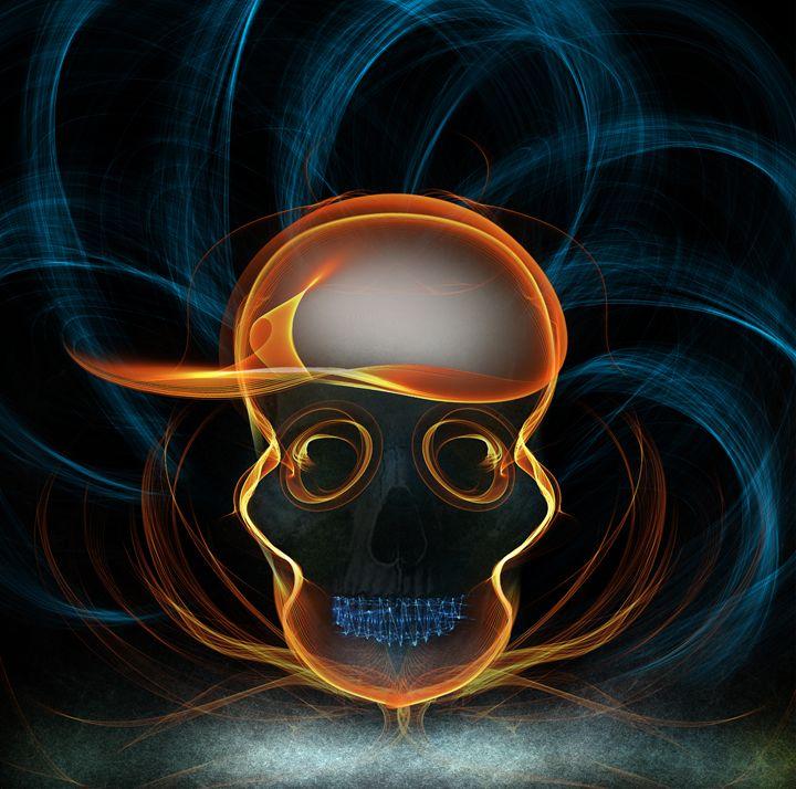 Grilled Skull - DuperonArt