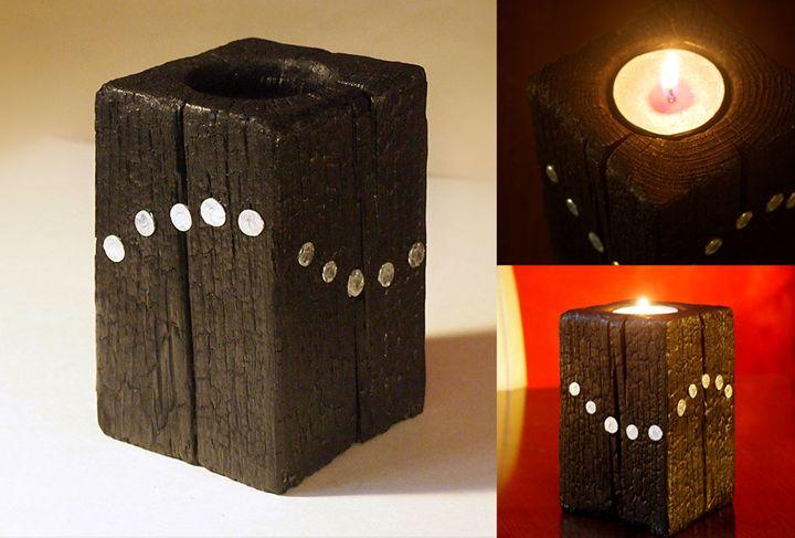 "Candle holder – model ""Wave"" - ZHEKO"