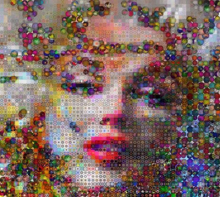 Marilyn Monroe Pop Galaxy - BluefishGallery