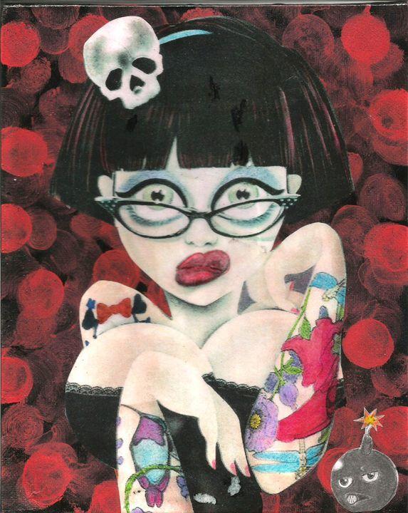 sexy Janie - Bomb Art