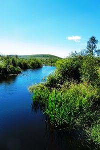 River Calmness
