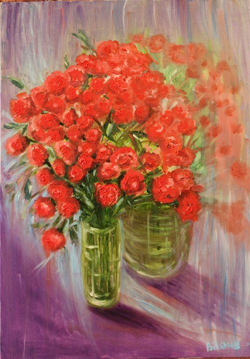 Wild Roses - TatibiArt