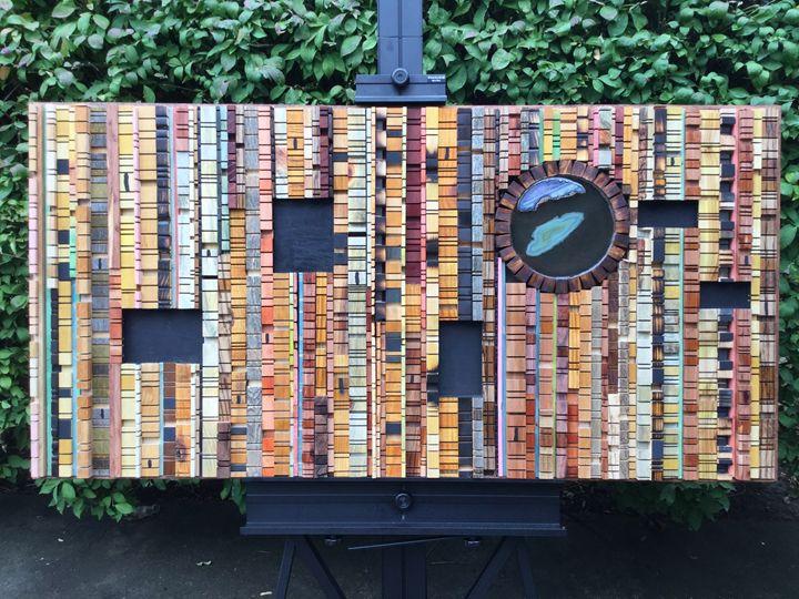 Leap of Imagination - Wood assemblages