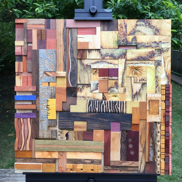Staccato - Wood assemblages