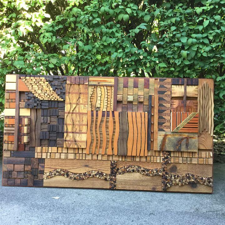 Congruent Dissonance - Wood assemblages