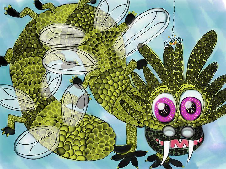 Bumbleactus and Spidey - Lynne Marie Studios, Inc.