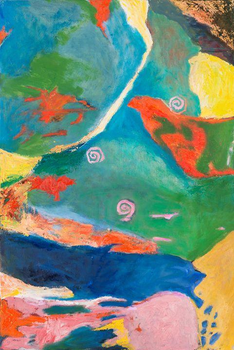 Abstract Textures II - The Artist's Studio