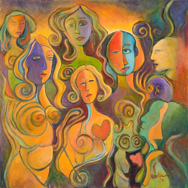 Faces II - The Artist's Studio